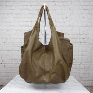 HOBO Brand leather tote